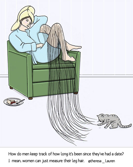 funny-cartoon-women-leg-hair-cat