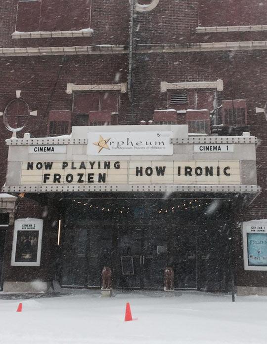 How Ironic…