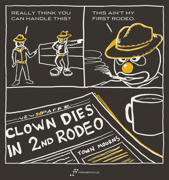 funny-clown-rodeo-webcomic-newspaper-die