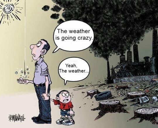 Crazy Weather…