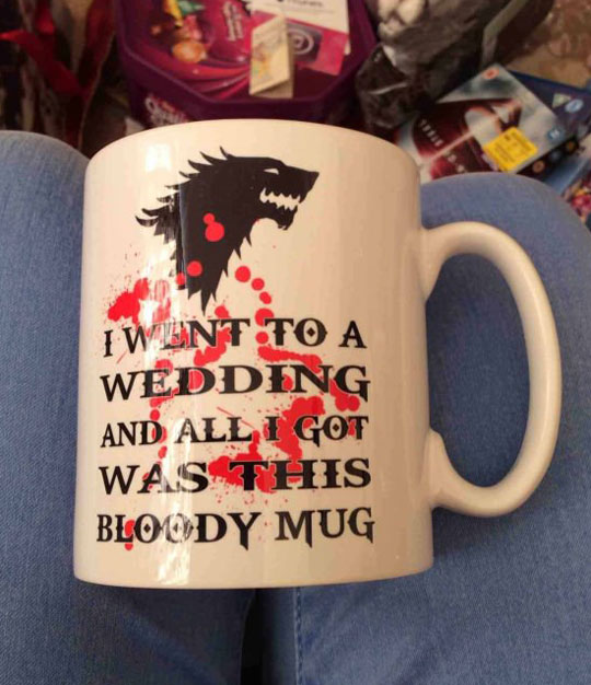 Possibly one of the best gifts ever…
