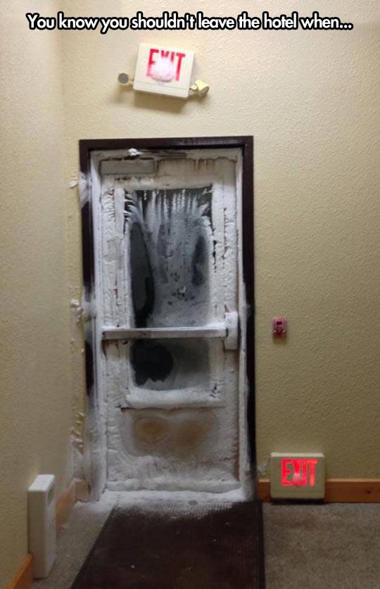 funny-door-ice-hotel-exit-cold