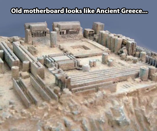 Ancient Grece inside a computer…