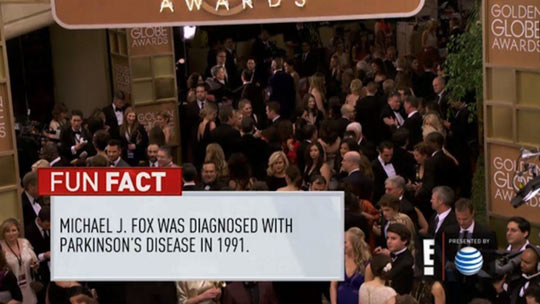 Yeah, real fun fact Golden Globes…