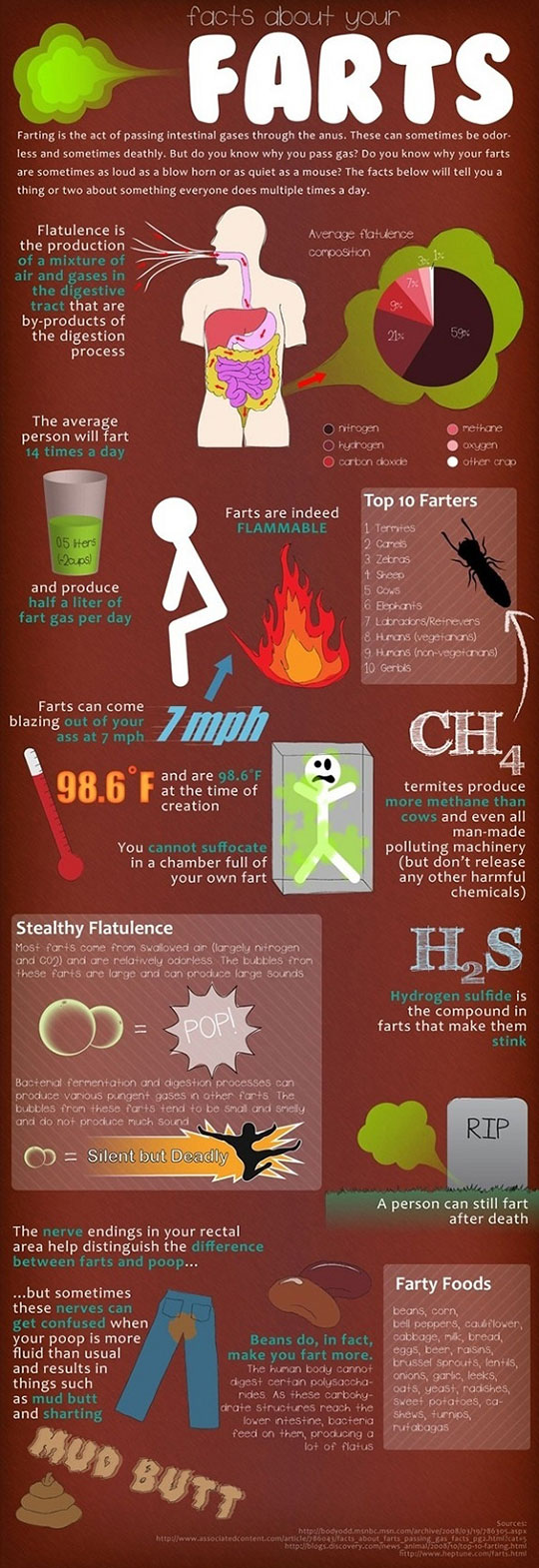 Facts about farts…