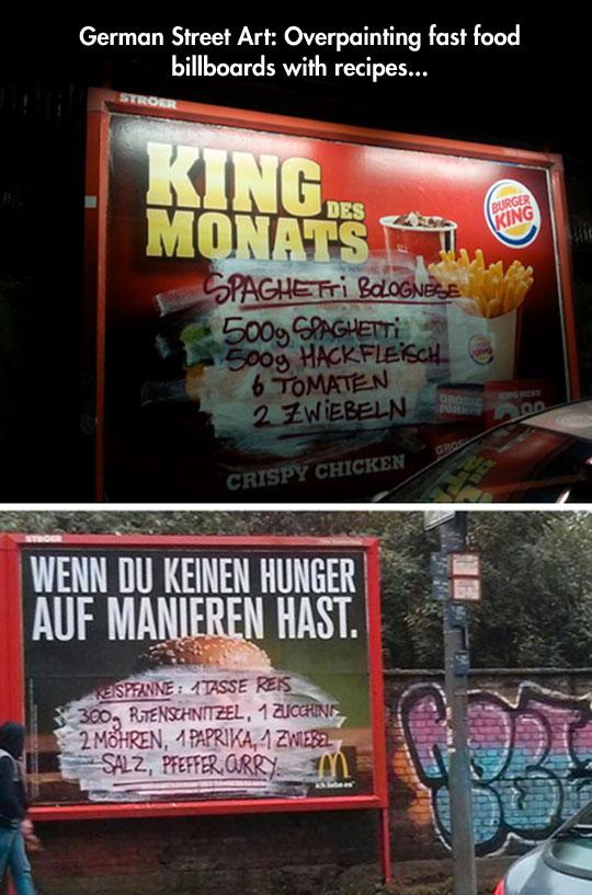 German Street art…