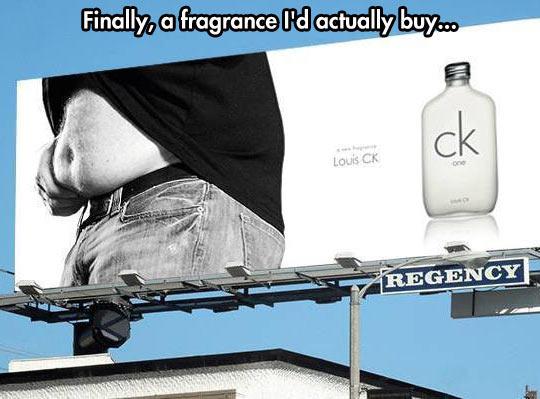 A fragrance for the regular guy…