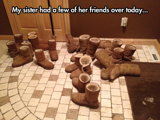 funny-friends-boots-winter-sister