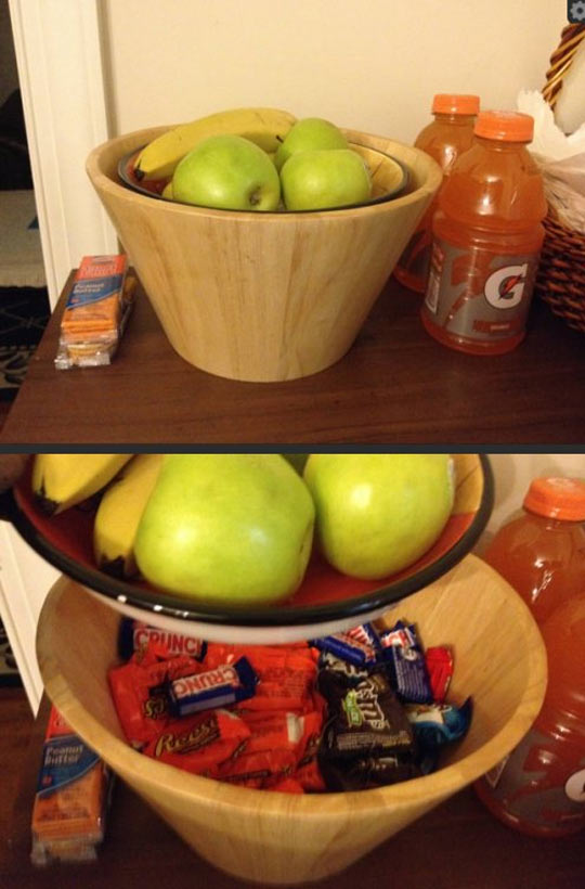 Don't want anyone to touch your candy bars?