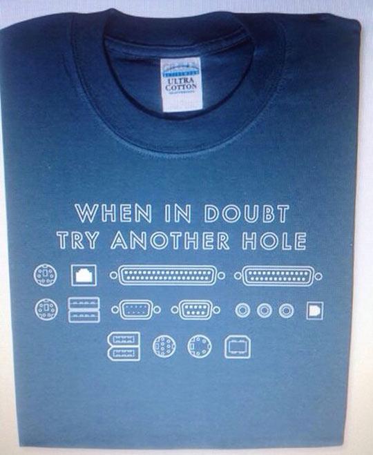 Tech Club shirt…