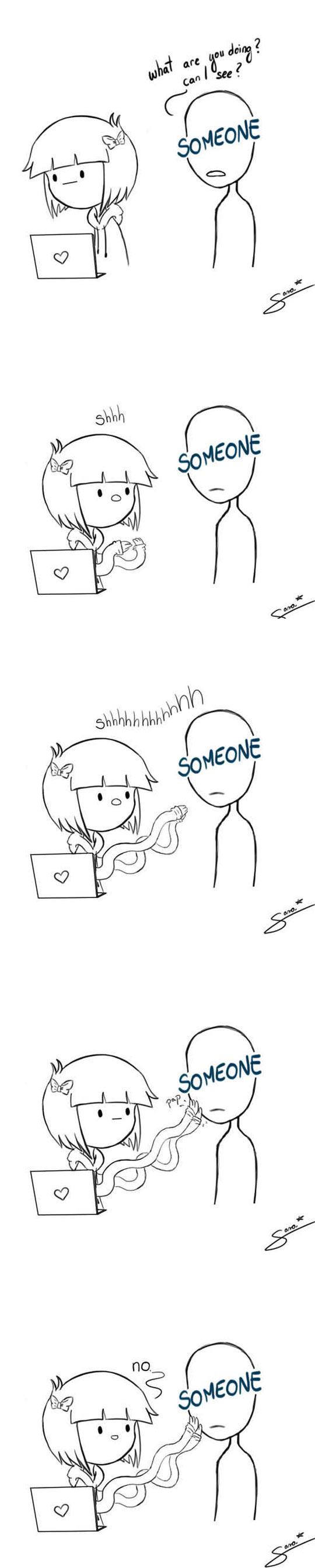 Go away someone…