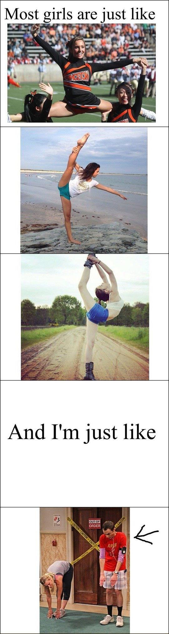 funny-girls-cheerleaders-beach-stretch