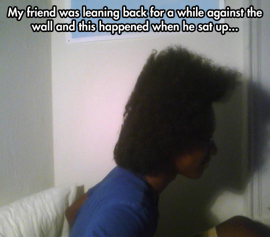Halfro style…