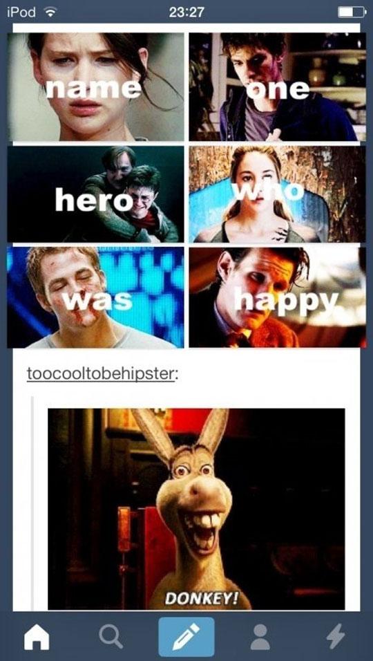 Heroes are not always happy…