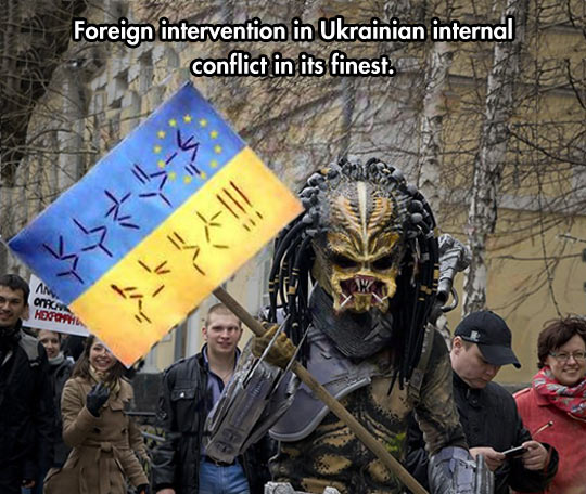 Foreign intervention…