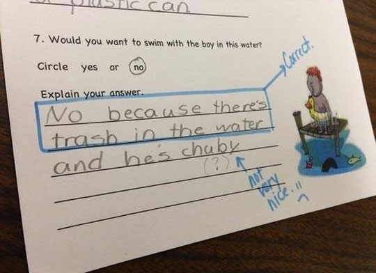 funny-kid-test-answer-not-nice