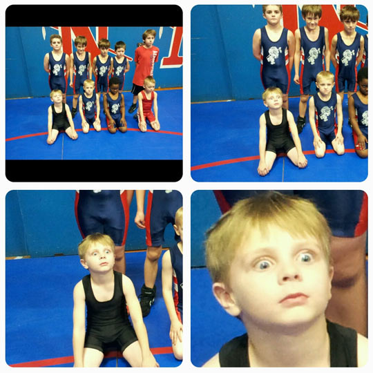 This kid has seen some things…