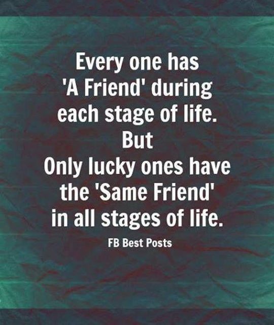 Every one has a friend…
