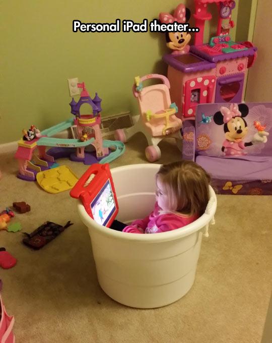 funny-little-girl-iPad-cup