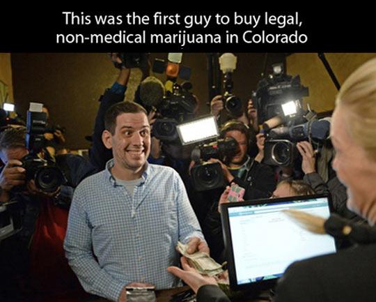 Marijuana is legal now in Colorado…