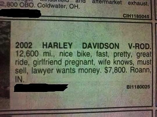 funny-newspaper-Harley-Davidson-sell