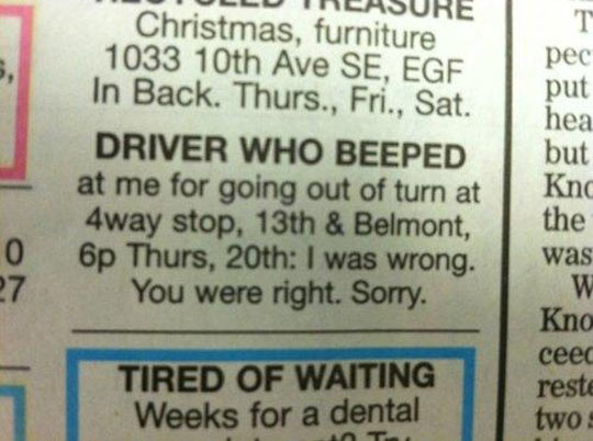funny-newspaper-announce-driver-message