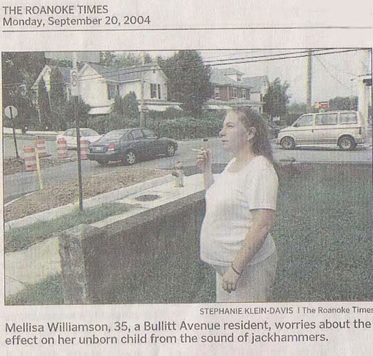 Yes, jackhammers are the real problem…