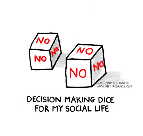 Decision making dice…