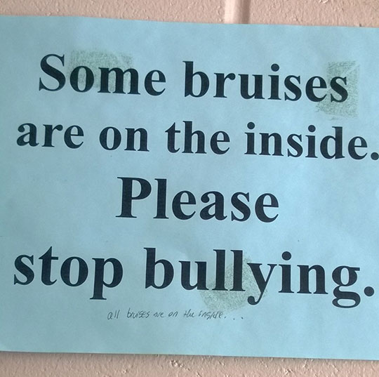 All bruises are…