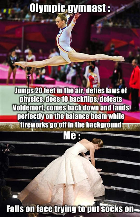 funny-olympic-gymnast-jumps-stairs-fall