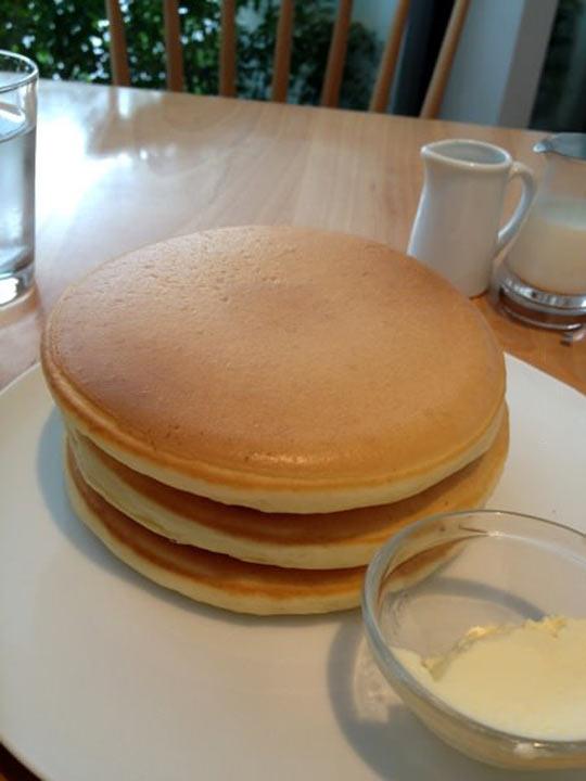 Oddly satisfying pancakes…