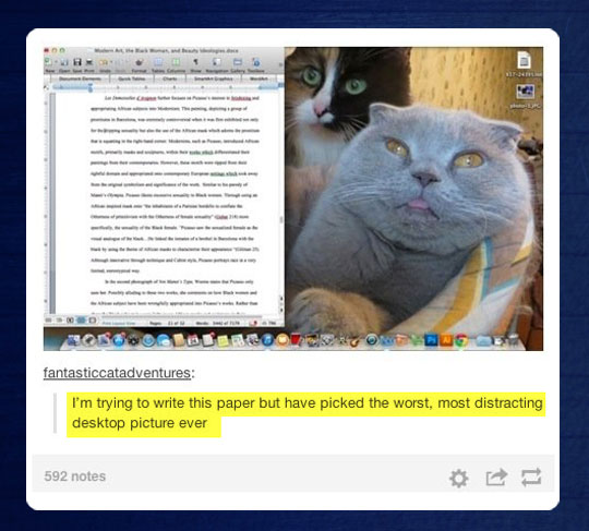 Trying to write a paper…