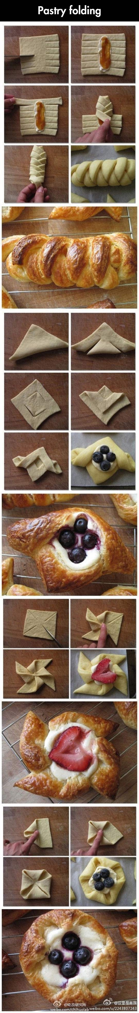 Start baking pastries…