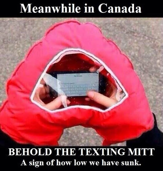 funny-phone-texting-cold-glove-hand