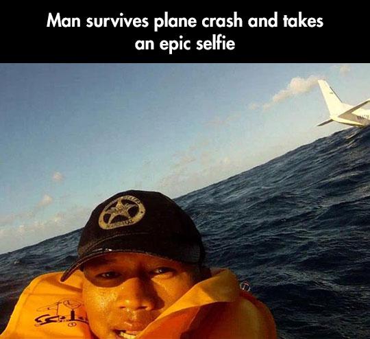 Epic selfie…