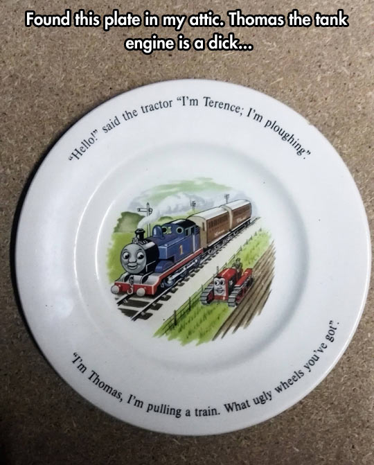 Thomas the Frank Engine…