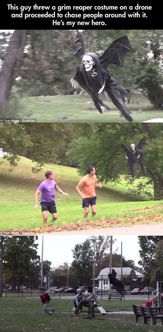 The most frightening prank…