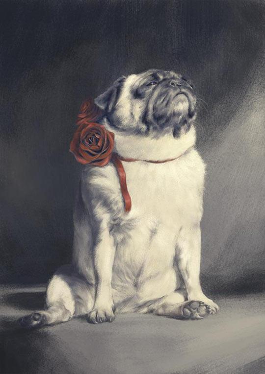Majestic as Pug…