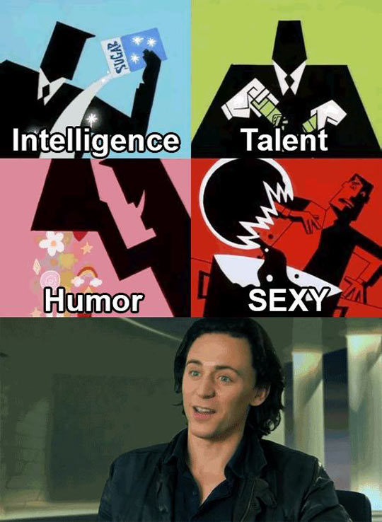 The creation of Tom Hiddleston…