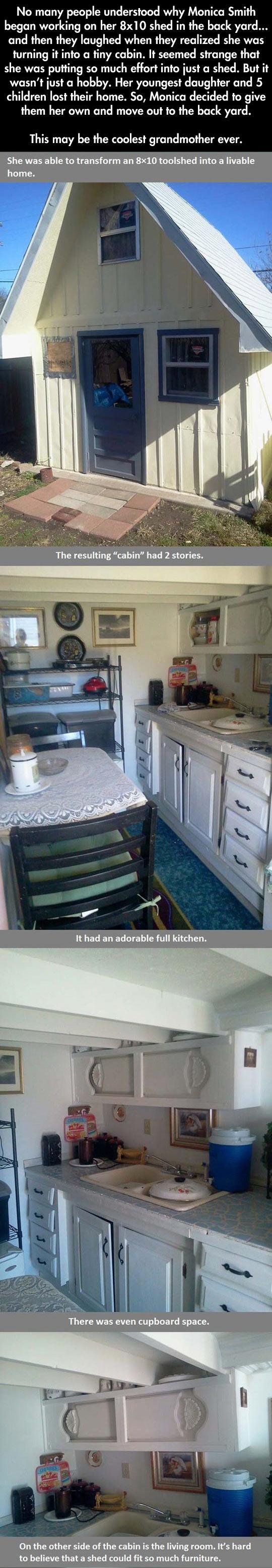 funny-shed-cabin-back-yard-grandmother