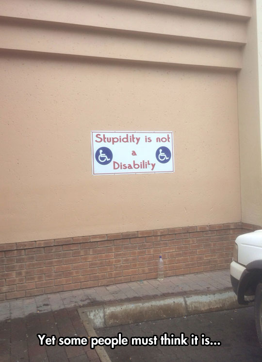 Every disability sign should be changed to this…