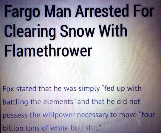 funny-snow-man-arrested-news