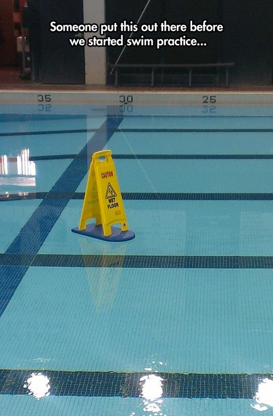 funny-swim-practice-sign-wet