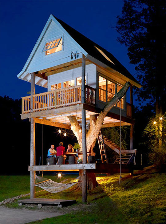 A tree house you could live in…
