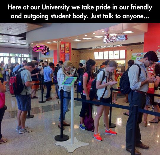 Every University ever…