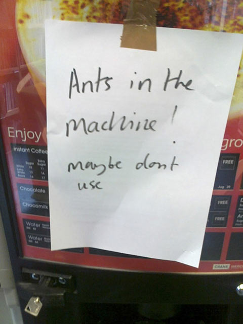 Maybe don't use…