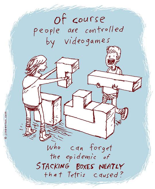 The gaming epidemic…