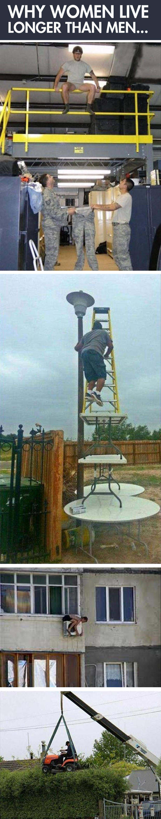 This is why women live longer than men...
