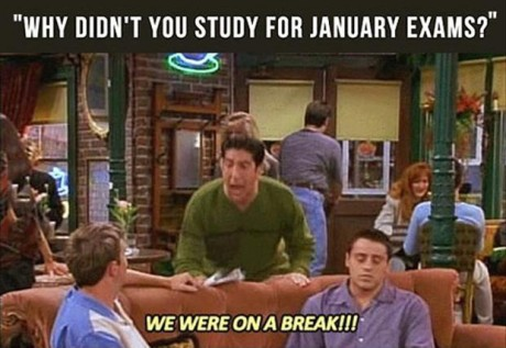 january exams soon