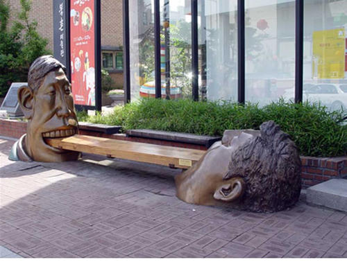 wtf-statues-bench-mouths